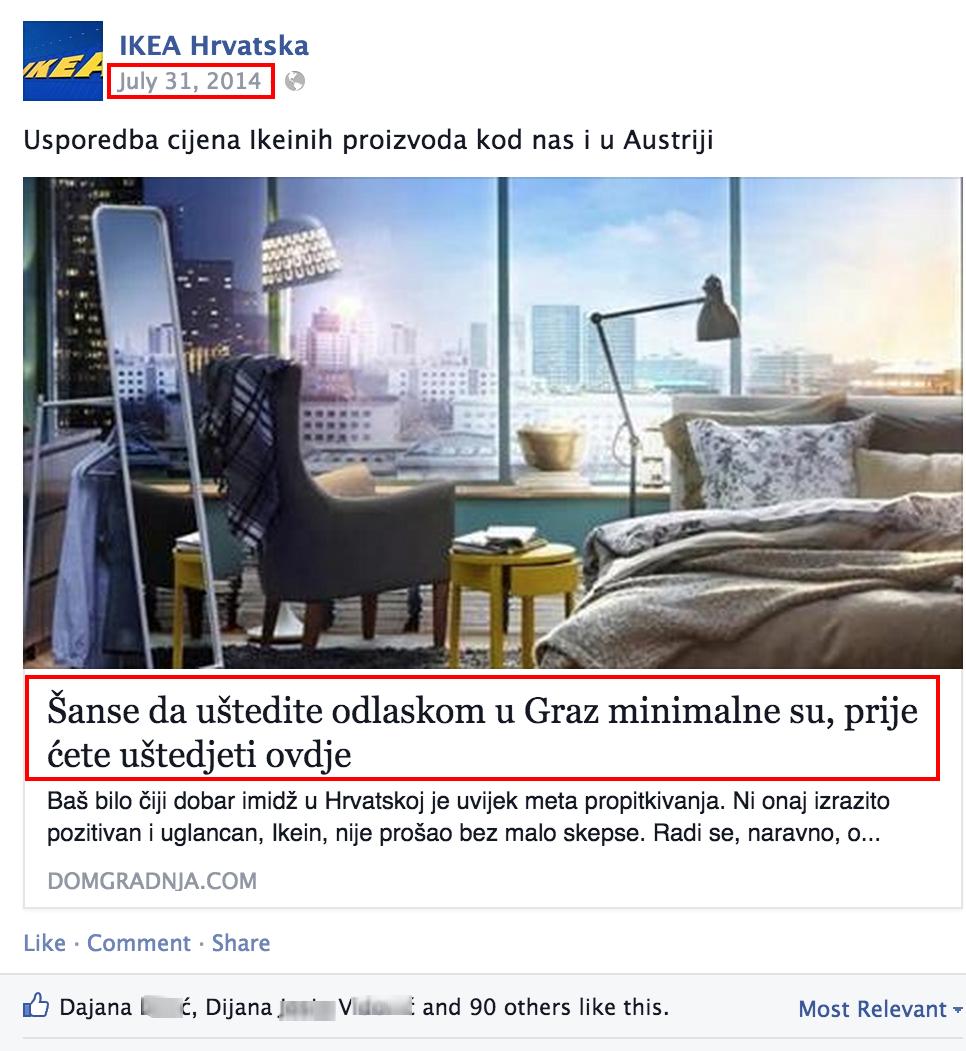 IKEA Hrvatska   Usporedba cijena Ikeinih proizvoda kod nas...